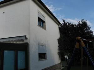 Einblasdämmung zweischaliges Mauerwerk in Lemgo